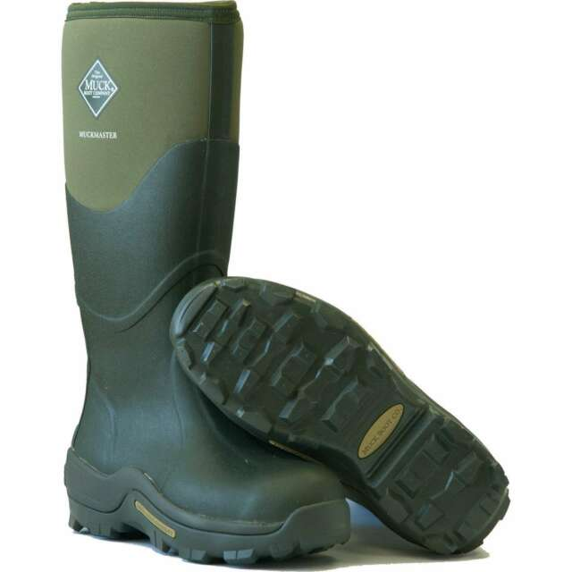 c5770124735 Muck Boots - Muckmaster Work Wellingtons - Moss Green