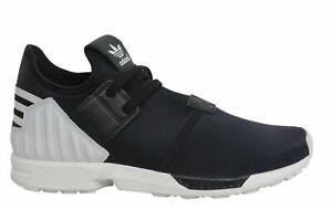 Adidas-Originals-ZX-Flux-Plus-Lacets-Noir-Blanc-Baskets-Homme-S75529-B3D