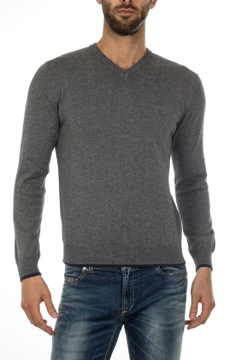 Maglia Maglietta Armani Jeans Sweater REGULAR FIT  Herren Grigio 8N6M966M13Z 3901