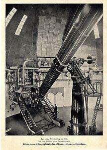Das Größte Doppelteleskop Der Welt * Observatorium In Potsdam Bilddokument 1899 Kann Wiederholt Umgeformt Werden.