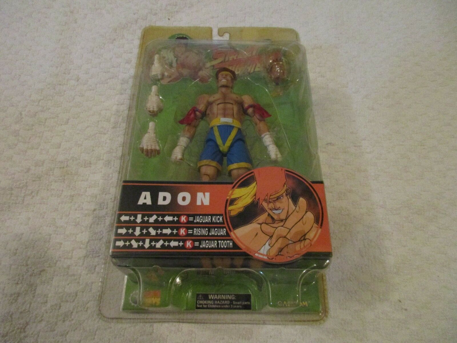 SOTA TOYS Capcom Street Fighter Round 3 Adon Action Figure