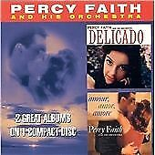 Faith, Percy : Delicado/Amour Amor Amore CD Incredible Value and Free Shipping!