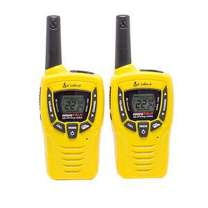 Cobra-23-Mile-22-Channel-Sports-Walkie-Talkie-VOX-Radios-w-NOAA-Receiver-CX335