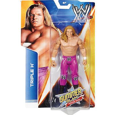 Mattel WWE Triple H HHH Summer Slam Heritage Series 2014 Toy Action Figure