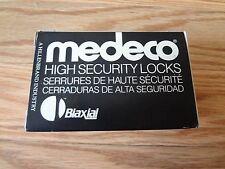 Medeco High Security 20W20052-12-E3S Sargent Knob Lock Cylinder SATIN BRONZE