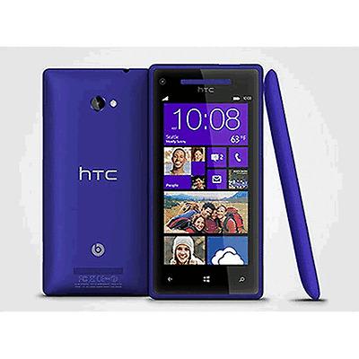 "HTC Windows Phone 8X - 16GB - California Blue (Unlocked) Smartphone 4.3"" 5MP"