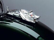 DELUXE HARLEY HOG/ WILD BOAR Chrome Front Fender Mascot /Ornament: Kuryakyn 9022