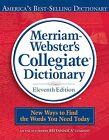 Merriam-Webster Collegiate Dictionary by Merriam-Webster Inc. (Hardback, 2003)