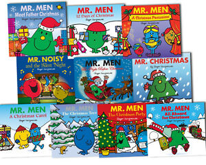12 Men Of Christmas.Details About Mr Men Christmas Collection 10 Children Books Set 12 Days Of Christmas