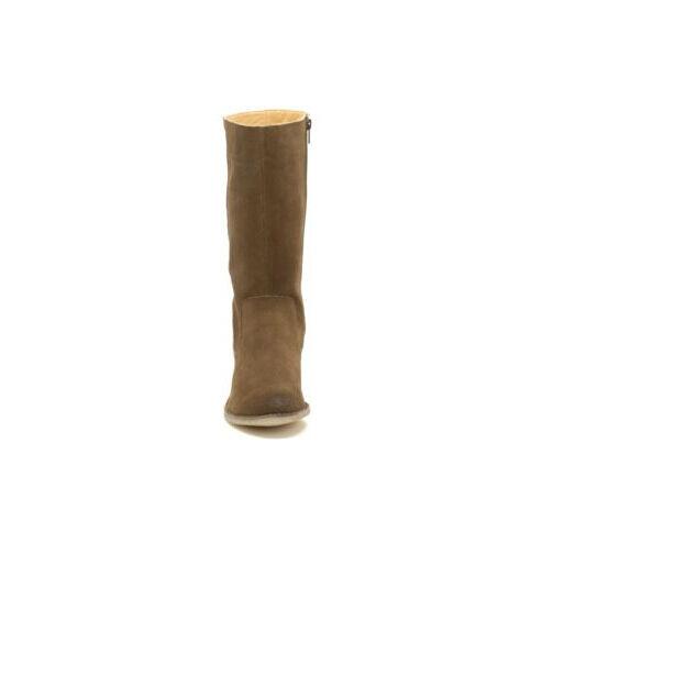 CLARKS Suede Originals Dacey Belle Walnut Suede CLARKS Mid-Calf Classic Chelsea Stiefel UK4 b5db4d