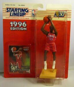 1996  JERRY STACKHOUSE Starting lineup (SLU) Basketball Figure & Card - 76ERS