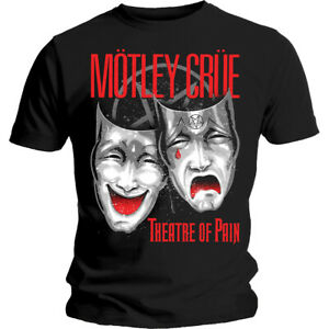 Moetley-Cruee-Theatre-Of-Pain-Official-Merchandise-T-Shirt-M-L-XL-Neu