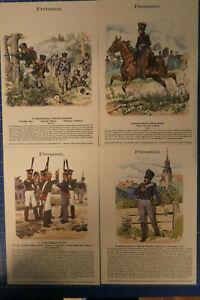 4-Chromolithographien-Knoetel-Preussen-Farbtafel-Sammlung-F-Gauker-B25918