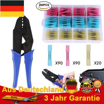 Crimpzange Stossverbinder Handzange Crimp Zange Rot Blau Gelb Stoß Verbinder Set