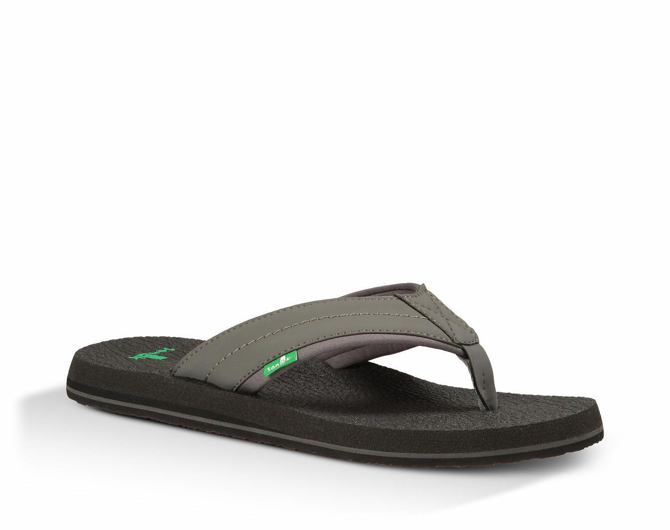 Sanuk Beer Cozy 2 Men's Flip Flop Sandal - Charcoal - SMS10868