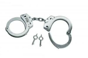 Umarex-Perfecta-HC200-Handcuffs-Stainless-Steel-Police-Style-Cuffs-Free-P-amp-P