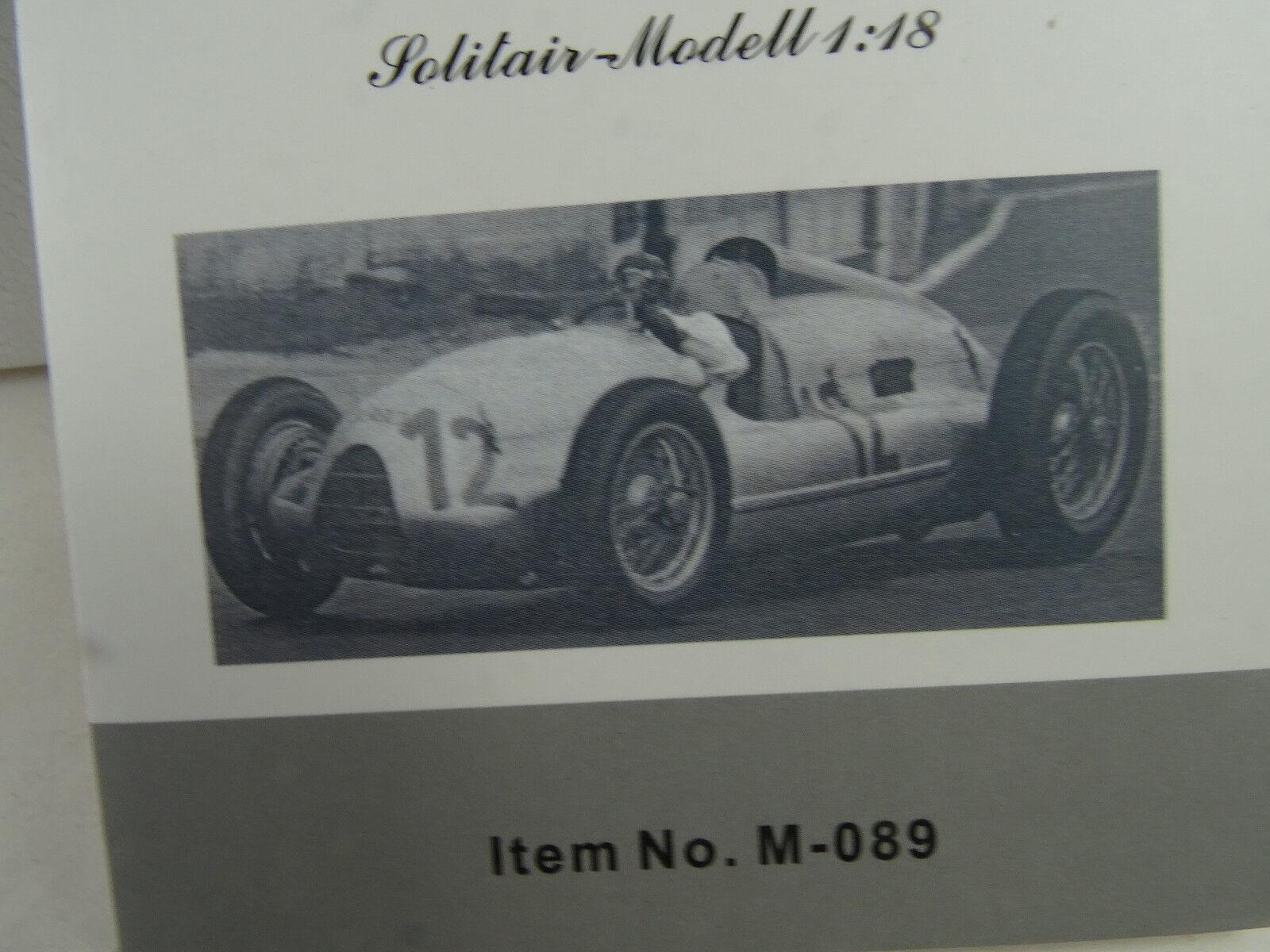 1 18 CMC  m-089 AUTO UNION TIPO D 1938 39 GP Francia H.P. Müller 1939  12 Lmtd §