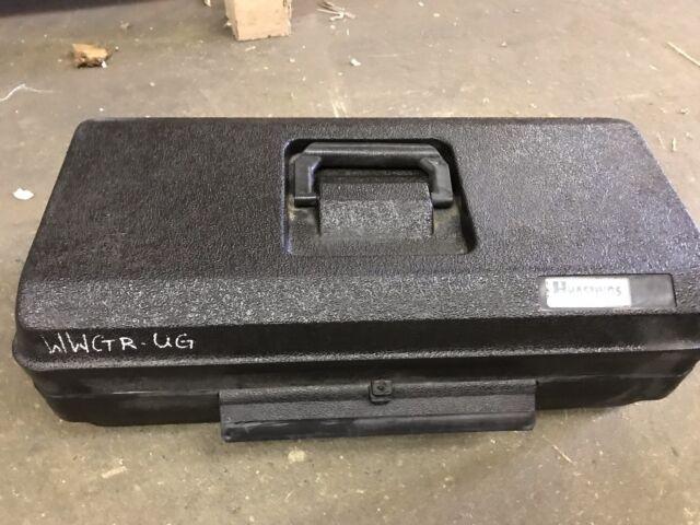 Hastings Fiberglass Products Phase Tell 6702 Black Plastic Case