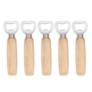 5Pcs-Wooden-Handle-Bottle-Opener-Wine-Bottle-Cap-Lifter-Beverage-Lid-Removal