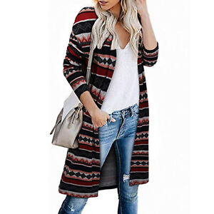 Women-039-s-Open-Front-Cardigan-with-Pockets-Long-Sleeve-Lightweight-Sweater-Coat