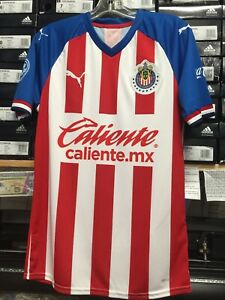 Chivas Home Women Soccer Jersey Shirt with Champions Liga MX Patch New PUMA