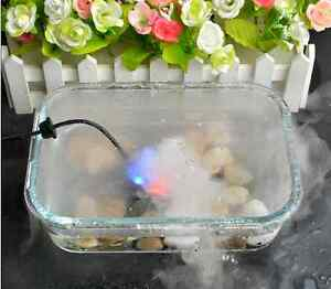 6 Led Colorful Mini Mist Maker Fogger Water Fountain Pond