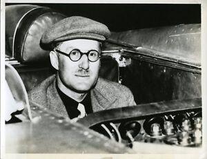 1938-George-Eyston-Thunderbolt-LSR-Car-Bonneville-Salt-Flat-Original-Race-Photo