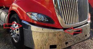 Passenger Side #11875 International Prostar Chrome Extension Corner Bumper Bumpers & Parts Parts & Accessories