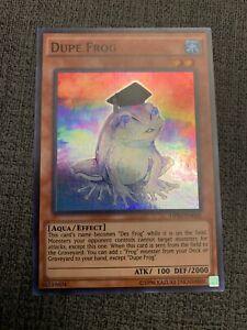 NM Yu-Gi-Oh Super Rare Dupe Frog OP03-EN005