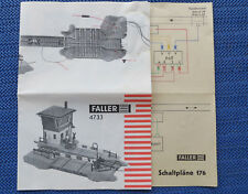 Faller ams b 4733 railroad crossing for hobbyists ebay faller ams original booklet for kit 4733 wiring diagram from building kit 176 asfbconference2016 Gallery