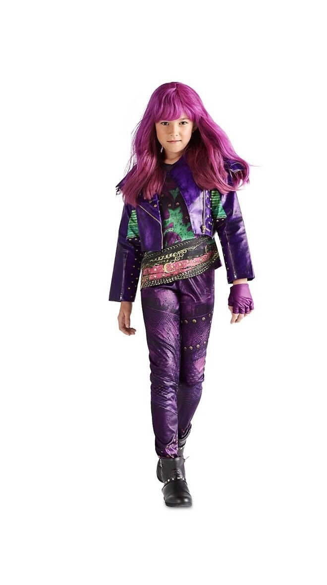 Disney Descendants 2 - Mal Halloween Costume Dress