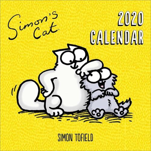 SIMON/'S CAT CALENDAR 2020 OFFICIAL SQUARE WALL 30cm x 30cm NEW /& SEALED