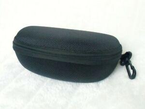 Etui-boite-a-lunettes-rigide-noire-solide-pratique-attache-crochet-ceinture