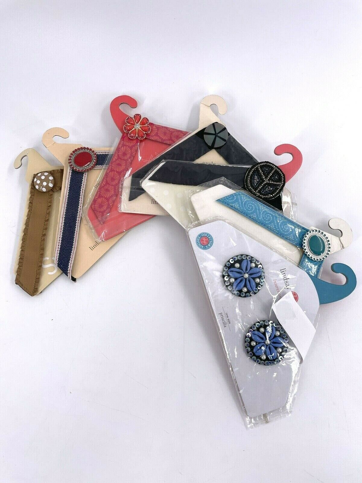 Lindsay Phillips Interchangeable Straps Switchflops 9/10/11 Large tracey addison