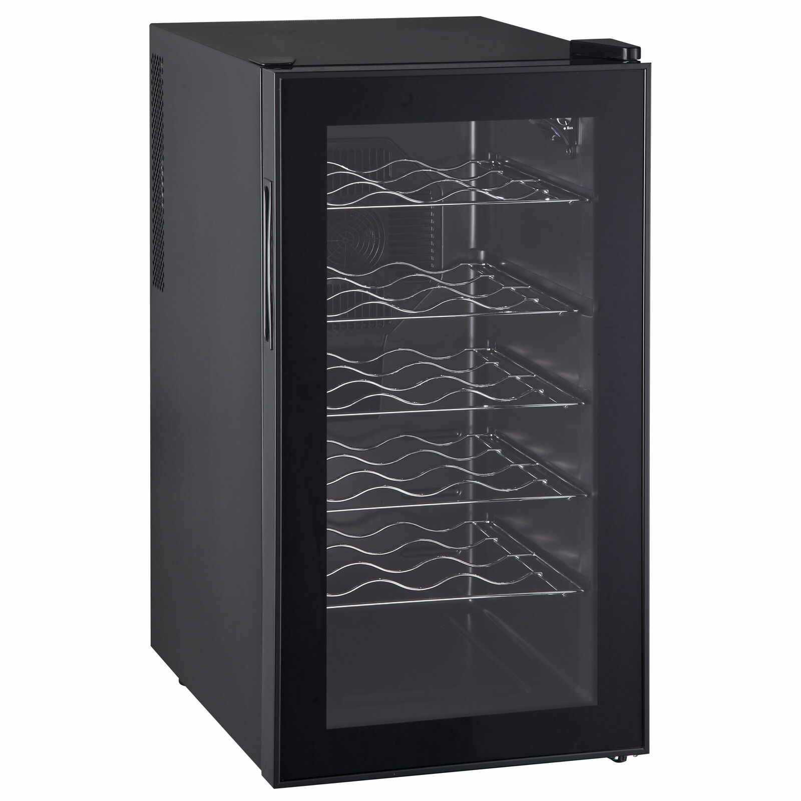 Picture of: Compact 19 Bottles Wine Cooler Led Temperature Control Home Bar Cabinet Kitchen For Sale Online Ebay
