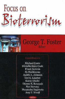 Focus on Bioterrorism by Nova Science Publishers Inc (Hardback, 2006)
