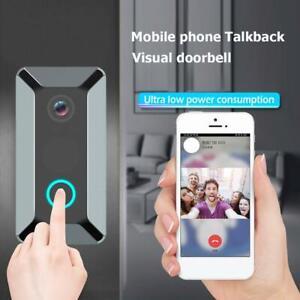 Wireless-Smart-WiFi-DoorBell-IR-Video-Ring-Camera-Intercom-Home-Security-CA