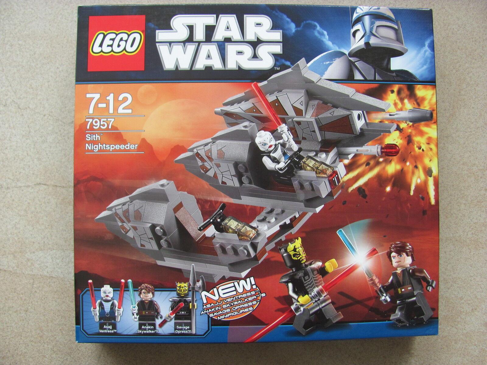 Lego Estrella Wars 7957 Sith nightspeeder 2011 nuevo & OVP