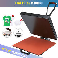 1000w Heat Press Machine Professional Clamshell Press For T Shirts More 15x15in