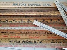 20 Square Yardstick Wood Wooden Ruler Lot Advertising Sign Color Art Craft