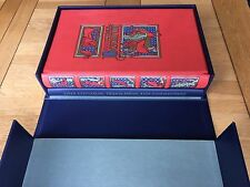 Folio Society (2008) limited edition Liber Bestiarum facsimile and commentary.