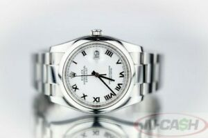 Rolex Men's Datejust 36 in Steel