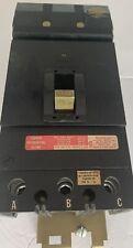 Square D Kh36175 Tested I Line 175amp 3pole 600volts Black Face Breaker