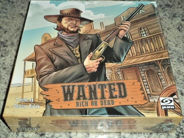 Wanted Rich or Dead - Ares Games Board Game New