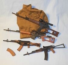 21st Century Toys ULTIMATE SOLDIER AK-47 SMG/Sniper Rifle Set 1:6 scale