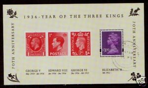 Grande-Bretagne-2006-Trois-Kings-Miniature-Feuille-Fin-D-039-Occasion