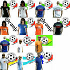 TICILA Calcio WM EM Fan T-Shirt Maglia S/M/L/XL/XXL Donne Uomo Lady uomo WoW