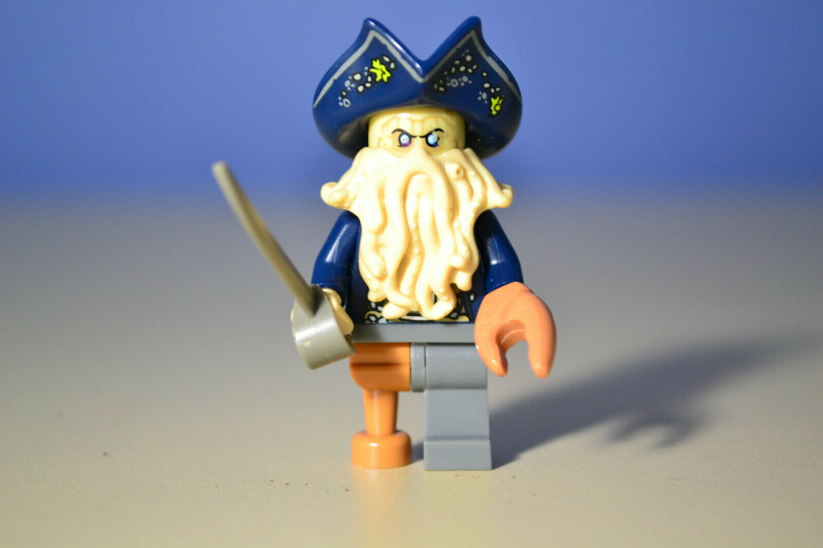 LEGO Davy Jones Minifigure Pirates of the Caribbean  4184