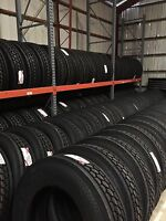 295/75R22.5 Semi Truck & Trailer Tires (Steer & Drives)