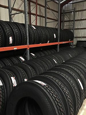 295/75R22.5 VIRGIN NEW SEMI TRUCK TRAILER TIRES